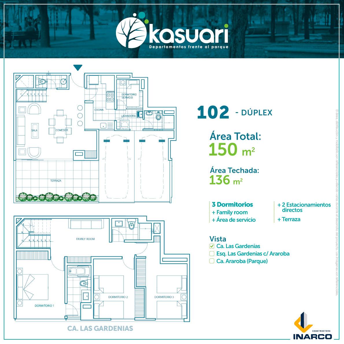 kasuari-102 duplex