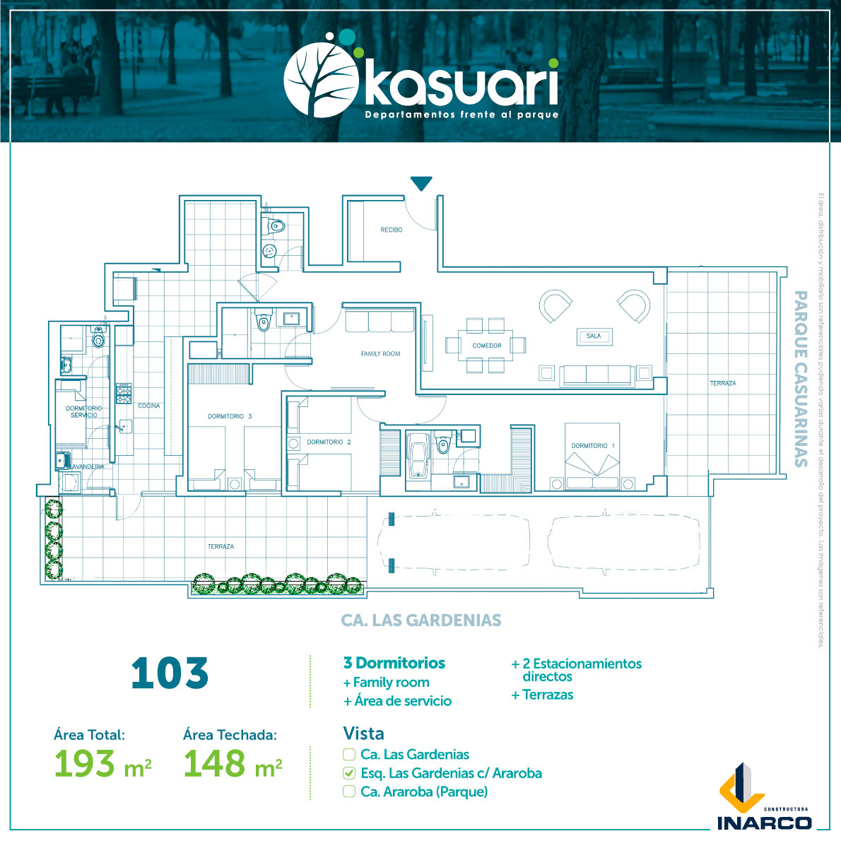 departamento kasuari-103