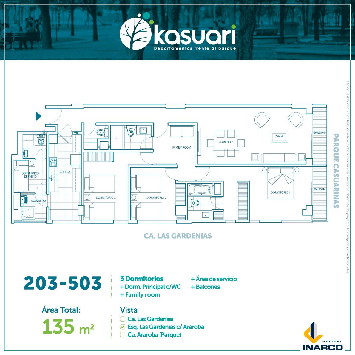 departamentos kasuari-203-al-503