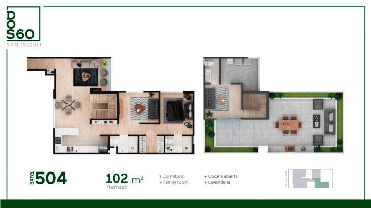 504, Departamento San Isidro