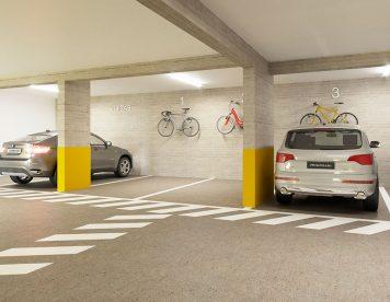Estacionamiento, Departamento San Isidro