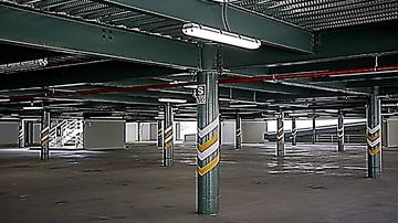 Deck Estacionamientos Campus UPC Villa