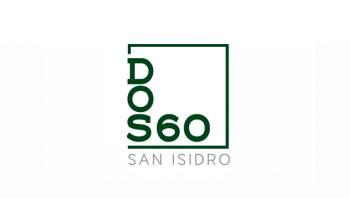 Logo DOS 60, departamentos San Isidro